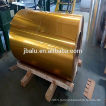 China fantastic color coated/painted aluminum coil price