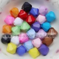 4-20MM Grade A Acrylic Opaque Bicone Beads