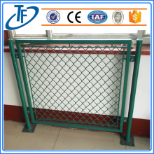 Beautiful sports field chain link fencing