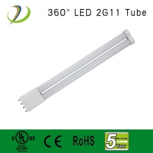 New design 2g11 base led tube light 360 degree