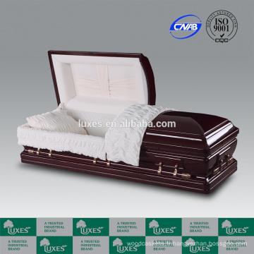 LUXES fabricants de cercueil en bois acajou Alsace-cercueil
