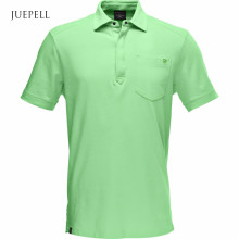 Olive Color Cotton Sports Men Polo Shirt