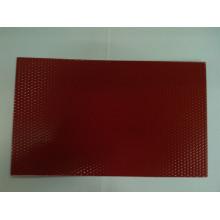 1050 Plaque en aluminium anodisé en relief pour la construction