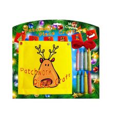 com criador de crianças artesanato decoração de decoração patchwork outdoor flag