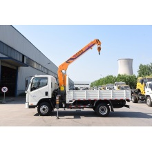 New Fashion Design for Truck With Crane 3 ton truck with crane export to Algeria Manufacturers