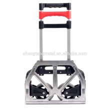 Aluminum and plastic hand trolley