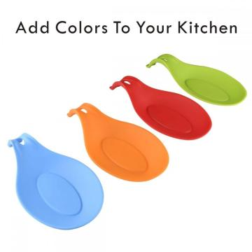 Silicone Spoon Rest Kitchen Supports de cuillères en silicone