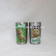 logotipo personalizado, impresión de alta calidad por mayor mini tazas