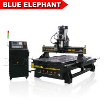 Multi-spindles Kabinett, das hölzerne funktionierende Dekoration cnc-Fräsermaschine mit Dreieckinverter herstellt