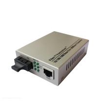 Transceptor de medios de fibra óptica 10/100 / 1000m