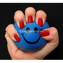 Custom rotondo PU Stress Ball Bulk - 6,3 CM