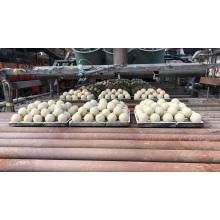 Céramique abrasive d'alumine broyant la boule dans la machine de meulage