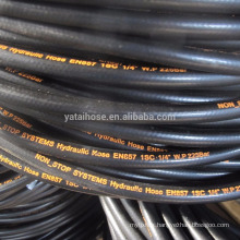 factory hydraulic hose EN853 ISN 1 / 4 dia black