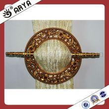 Einfaches Design und Blumenverkleidung rund Typ Vorhang Clip für Vorhang Dekoration und Vorhang befestigen