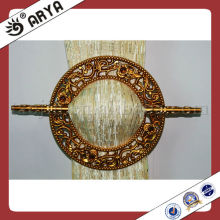 simple design and flower covering round type Curtain Clip for curtain Decoration and Curtain fasten