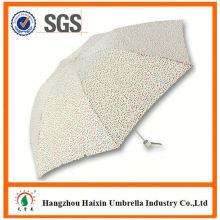 Dernier pli, parapluie usine gros Parasol impression Logo 3 pas cher