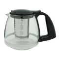 Glass Tea Pot with Tea Strainer 800ml