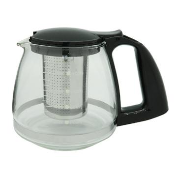 Bule de vidro com coador de chá 800ml