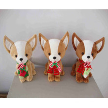 ICTI Factory Good Quality Plush Dog Chihuahua Toy