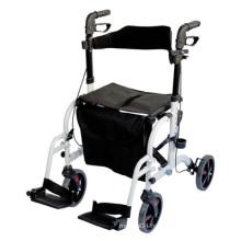 Rollator Deluxe et chaise Transit en un
