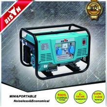BISON(CHINA) 1.5kw 1.5kva 1500w gasoline generator new design portable