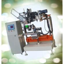 CNC automático de alta velocidade 4 eixo escova de vaso sanitário de perfuração e tufting máquina / escova de vaso sanitário que faz a máquina
