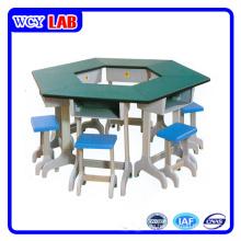 Labormöbel Hexagon Electrics Tisch und Dest