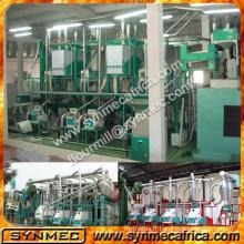 moulin à maïs / ligne de production de farine de maïs / ligne de machine de fraisage de maïs