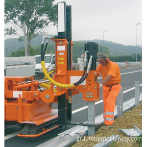 Diesel Powered Pound Guarderil Pile Driver