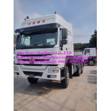 Tête de camion de tracteur de Sinotruk Howo 6X4 371hp ZZ4257S3241V