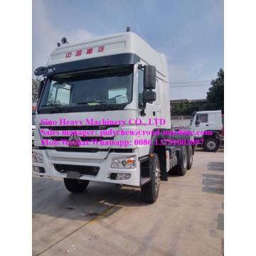 Cabeza del camión del tractor de Sinotruk Howo 6X4 371hp ZZ4257S3241V