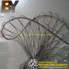 Malla de férula de acero inoxidable para sistema de seguridad de paquete y bolsa