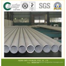 ASTM A213 tubos de trocador de calor de aço inoxidável sem costura
