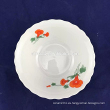 tazón de fuente de los tallarines de porcelana