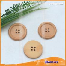 Botones de madera naturales para la prenda BN8031