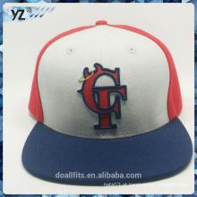 Chapéu snpanck barato e de alta qualidade com logotipo 3D emboridery feito na china