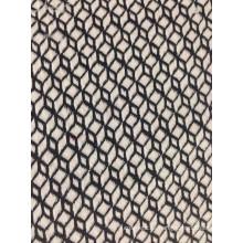 tecido de malha jacquard de algodão com 22% de poliéster T / C