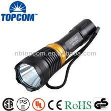 Recargable 3w 1800lm alta potencia buceo luz de buceo