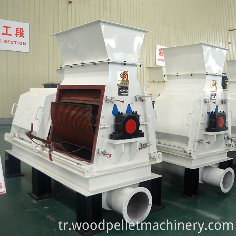 high yield wood hammer mill crusher