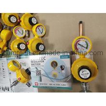 Oxygen Pressure Gauge for Oxygen Gas Suction Vacuum Regulators.