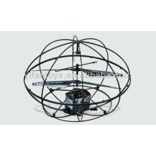 777-284 3.5CH инфракрасный Rc НЛО мяч с гироскопом RC летать мяч НЛО