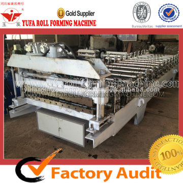 Russia Design Wall Panel Roll Forming Machine
