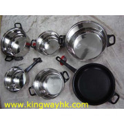 Closeout, Stocklot Of 6pcs Cookware Set