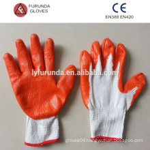 Personal protective equipment for construction gloves with rubber coated/PPE gloves