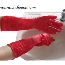 Long Household Latex Gloves Kitchen Latex Gloves Washing Work Glove