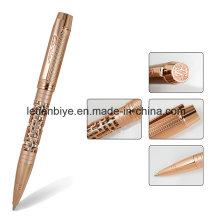Cnc-Luxusmetallstift, höhlen heraus Logo kundengebundenen Stift aus (LT-C809)
