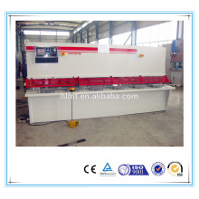 Máquina de corte manual hidráulica QC12Y 8x2500, máquina de cisalhamento a pé