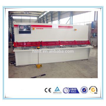 Machine de cisaillage manuel hydraulique QC12Y 8x2500, machine à ciselure à pied