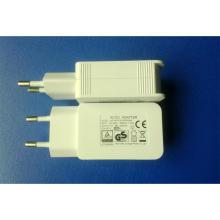 Plugue UE 5V 2100mA Carregador de Parede USB