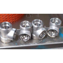 Forged Steel High Pressure Threaded Socket Weld Fitting